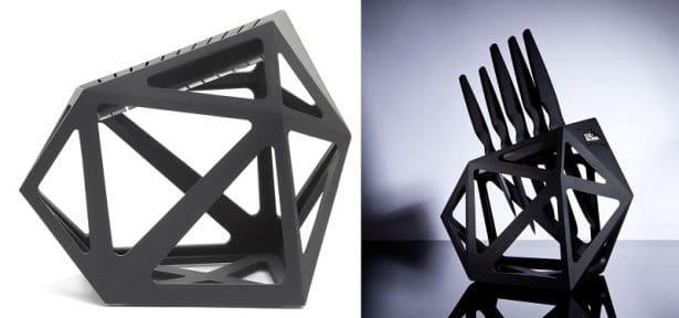 Support de rangement arty et chic - Block Diamond d'Edge of Belgravia