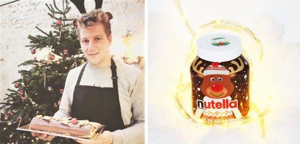 Une Bûche de Noël au Nutella, de quoi réveiller nos papilles !