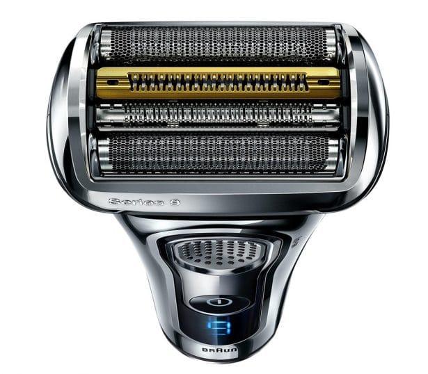 Braun Series 9 rasoir électrique à grille pour homme, technologie Wet & Dry, tondeuse de précision rétractable