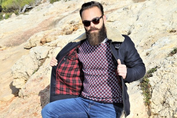 Pull Montagut pour homme est tricoté en 100% laine