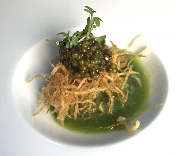 Caviar Daurenki / Anguille fumée et Cressons des bassins : l'équilibre parfait