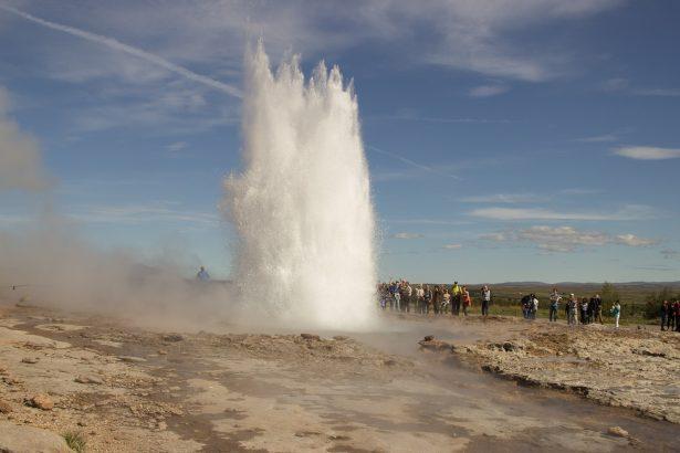 Geysir en Islande