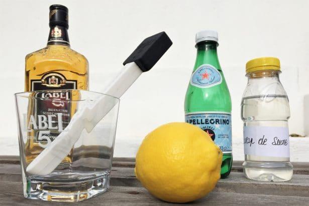 Un cocktail maison digne d'un vrai barman !