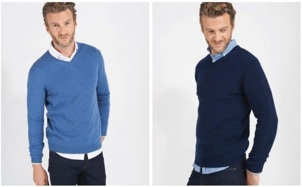 Pulls en cachemire Burton of London 149€