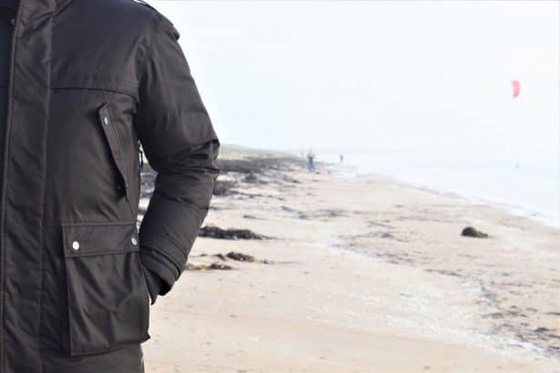 Test parka Nobis modèle Parka Yatesy à l'épreuve de la Bretagne