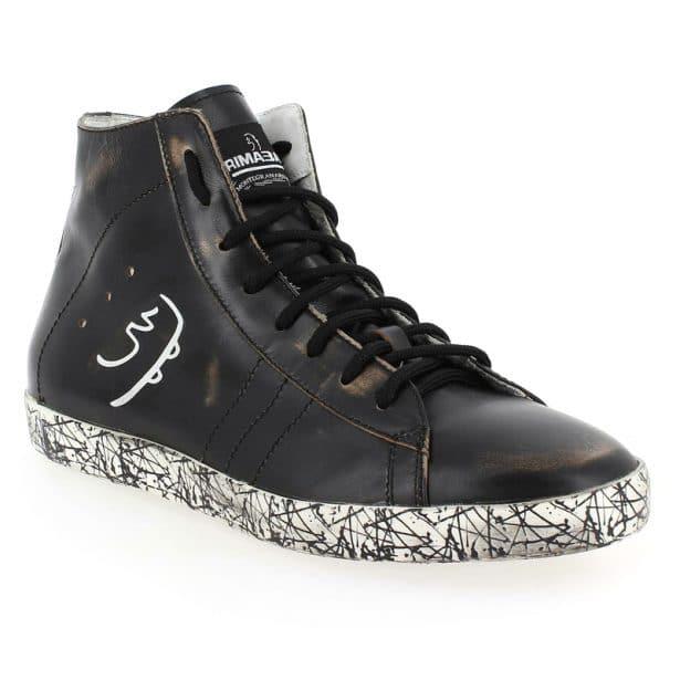 Sneakers en cuir Primabase pour homme