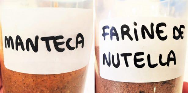 Des ingrédients du Nutella en total transparence