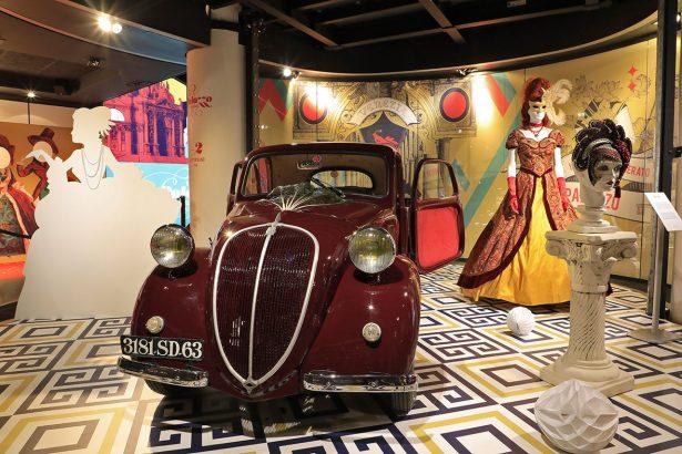 FIAT 500 TOPOLINO, symbole de l'ascension sociale des années 30