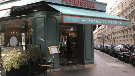 Maison Petrossian au 106 boulevard Courcelles 75017
