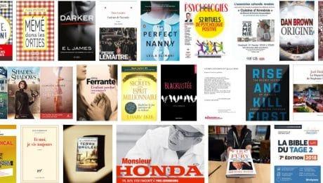 Livres les plus vendus en France