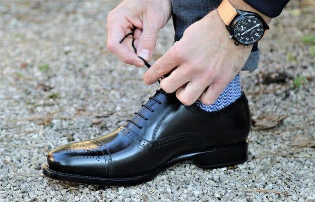 Test souliers Les Crafteurs x L'HommeTendance.fr