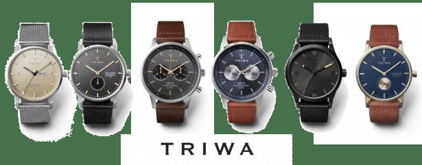 top design vente discount offrir des rabais TRIWA, montres au design scandinave minimaliste