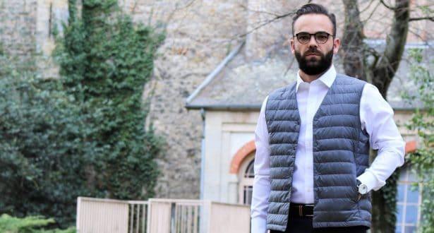 Chemise blanche slim fit Uniqlo sans repassage à 29,90€ + doudoune sans manches ultra légère Uniqlo à 49,90€