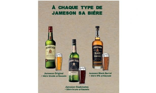A chaque bière son whiskey