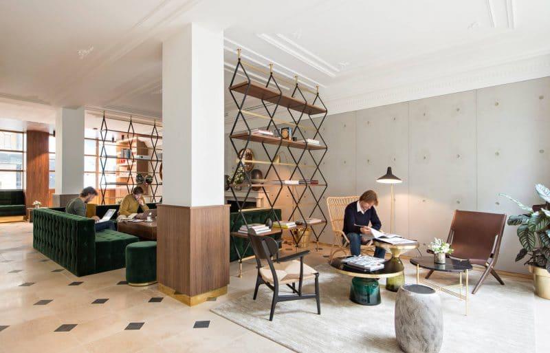 h tel parister une terrasse tendance en plein paris. Black Bedroom Furniture Sets. Home Design Ideas