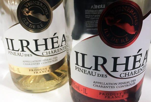 Pineau des Charentes Ilrhéa, fabriqué en France sur l'île de Ré