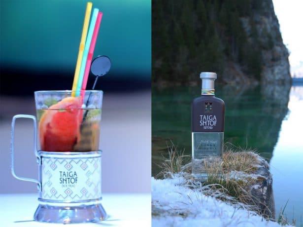 Taiga Shtof Iced Tea Cocktail