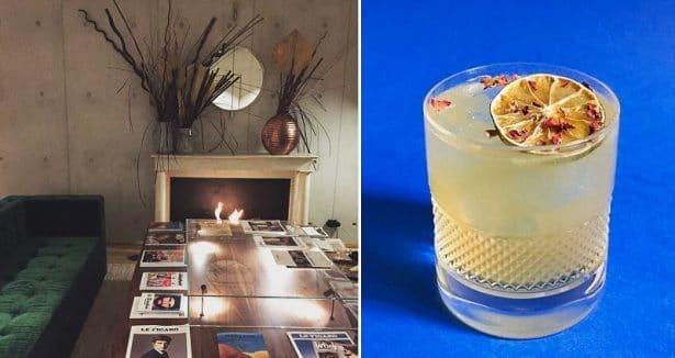 Une ambiance chaleureuse l'hiver et une terrasse arborée pour l'été, de quoi profiter d'un bon cocktail signature made in Hôtel Parister