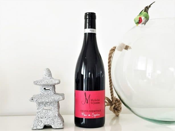 Vin Fleur de Syrahne de Michelas St Jemms - Croze Hermitage