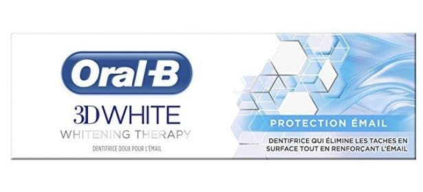 Dentifrice Oral-B - 3D White Protection Email