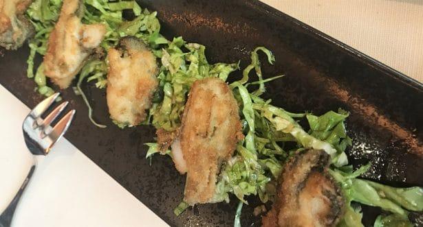 Gros coup de cœur et découverte les huîtres frites - Restaurant Le Duc Paris
