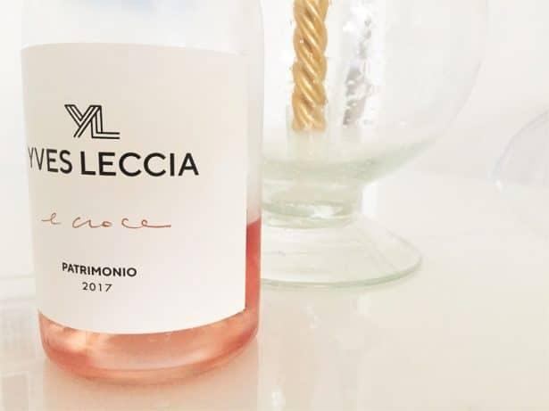 Vin rosé Yves Leccia - E Croce - Patrimonio 2017