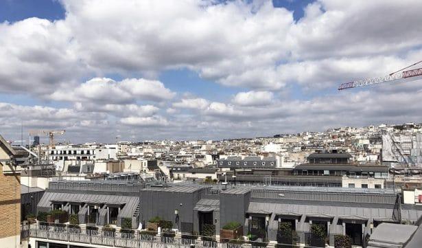 Vue sur Paris chez WeWork