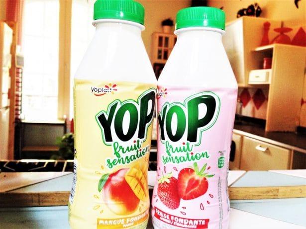 Yop mangue et Yop fraise... On fond déjà pour ces nouvelles saveurs !