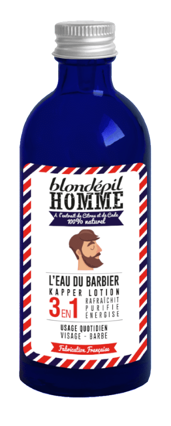 L'Eau du barbier Blondépil