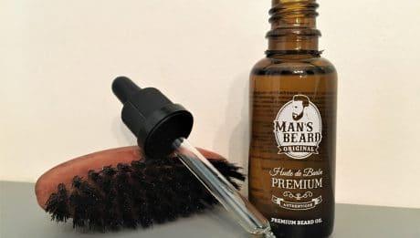 Huile de barbe Man's Bared
