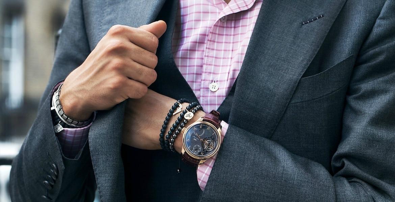 Comment porter un bracelet homme