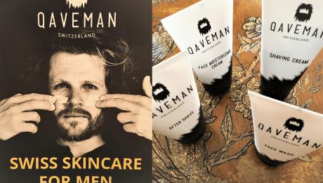 Qaveman est une marque de soins exclusivement pour hommes