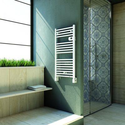 Sèche-serviettes électrique DELONGHI Alicante 500W en vente chez Castorama 89€