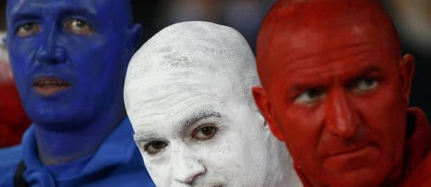Supporter Equipe de France - crédit photo @lemonde