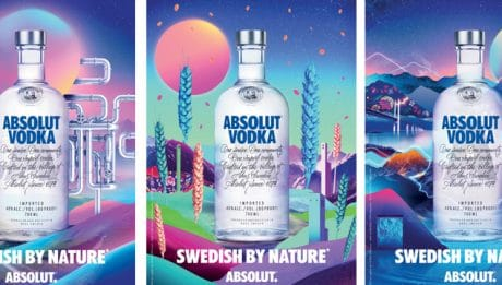 Absolut Vodka présente sa nouvelle campagne « Swedish By Nature »