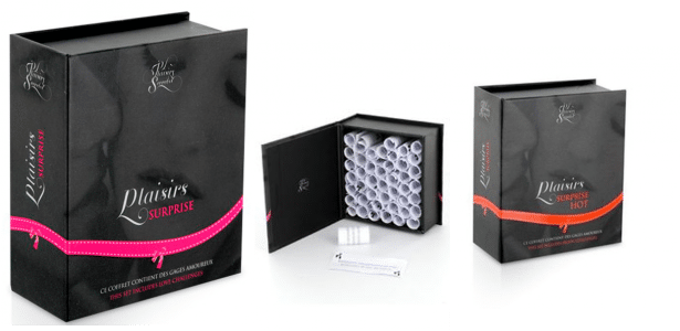 Coffret Plaisirs Surprise Hot et soft