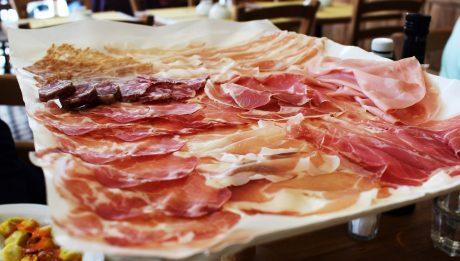 Restaurant La Salsamenteria Di Parma - Plateau de charcuterie