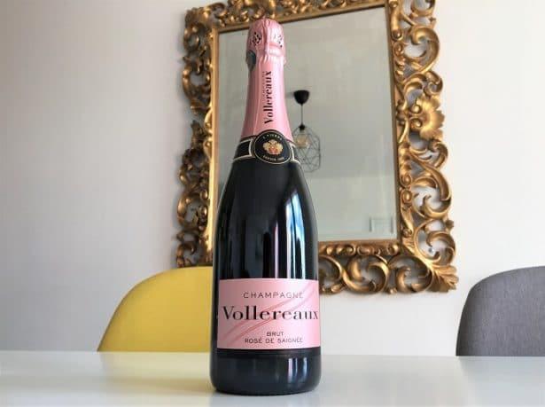 Champagne rosé Vollereaux
