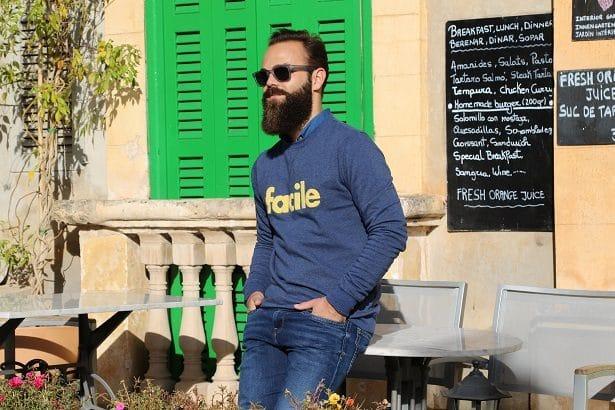 Look streetwear Les Garçons Faciles x LhommeTendance