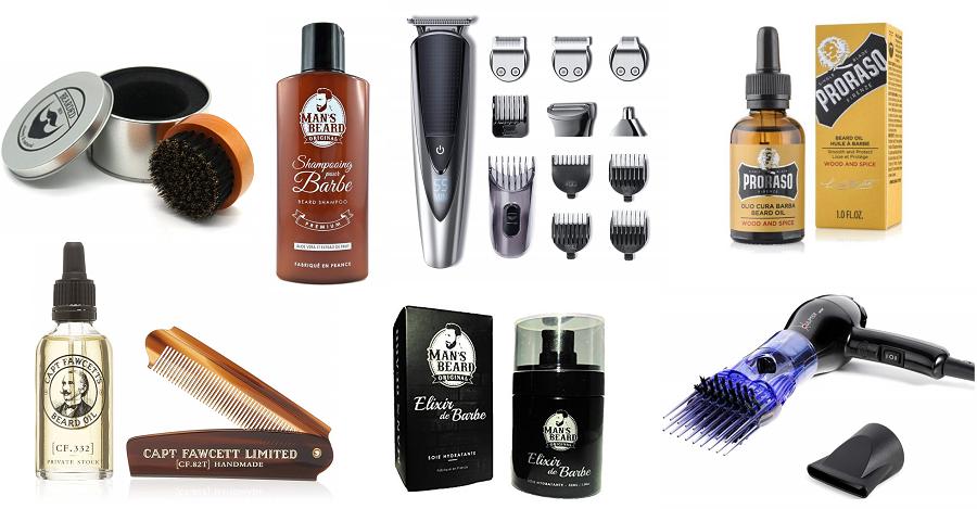 Idées cadeaux pour homme Saint-Valentin - soin pour la barbe