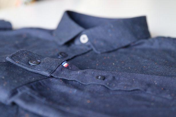Chemise FYU modèle Montmartre Bleu Marine : tous les détails qui font la différence - Fabrication Française
