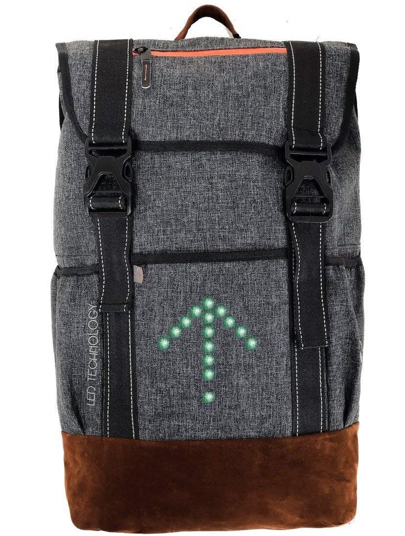MoonRide Sac à Dos LED Clignotant - signalisation LED Connect