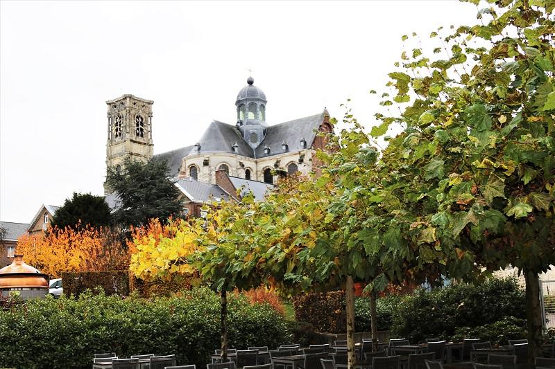 Abbaye de Grimbergen en Belgique