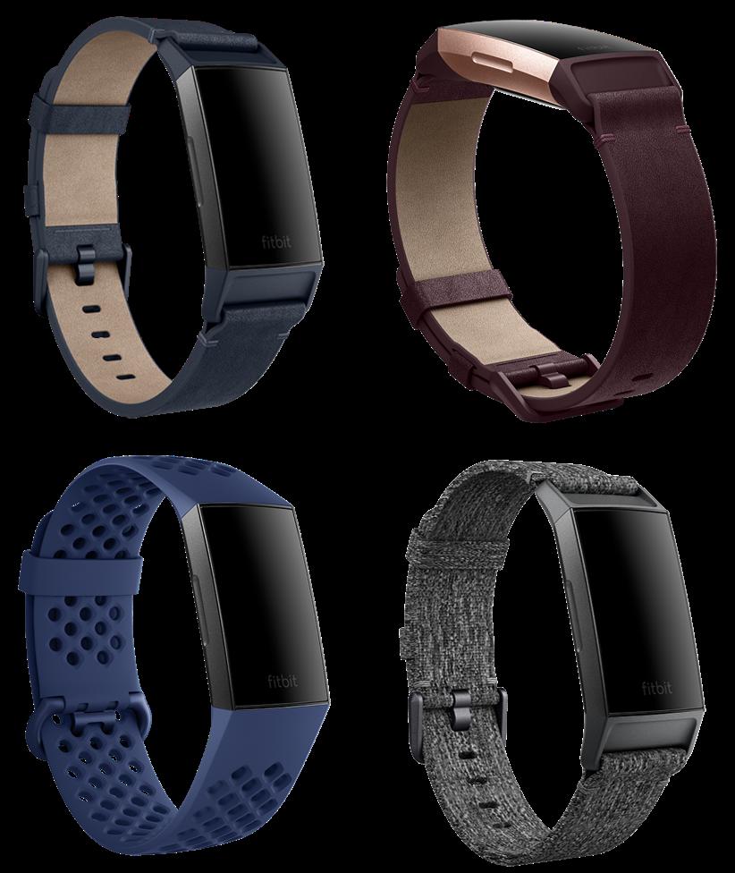 Bracelets en cuir, tissés ou en silicone pour Fitbit Charge 3 à partir de 29,95€