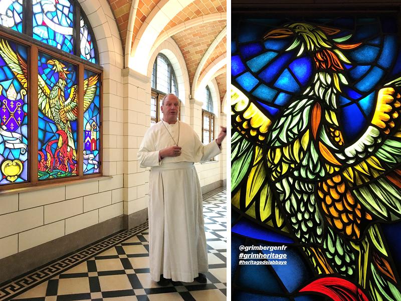 Le phénix est devenu le symbole de l'Abbaye de Grimbergen