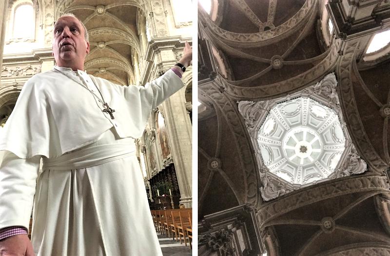 Visite exclusive de l'Abbaye avec Père Eric