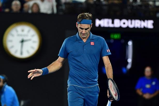 Roger Federer à l'Open d'Australie