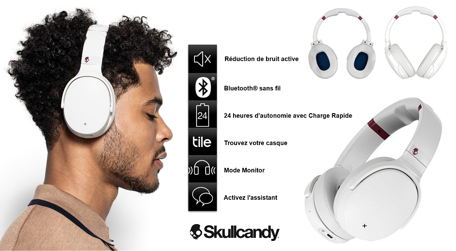 Casque audio Venue Skullcandy à 179,99€
