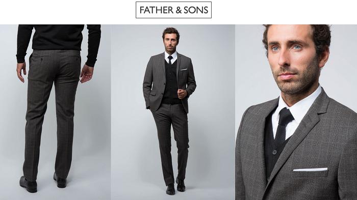 Father & Sons : Costume de qualité pas cher