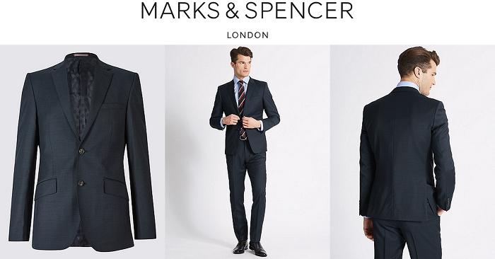 Marks & Spencer : Costume de qualité pas cher